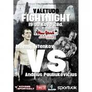 2015 m. kovo mėn. 28 d. VALE TUDO FIGHTNIGHT turnyras