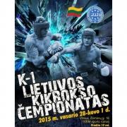 2015 m. Lietuvos atviras jaunimo ir suaugusiųjų kikbokso čempionatas