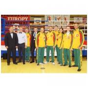 Lietuvos Muay thai rinktinės delegacija Europos Muay thai čempionate Krokuvoje (Lenkija)