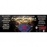 """Lietuvos Muay thai čempionatas Vilniuje PC """"Panorama"""" 2015 m. balandžio 25- 26 d."""